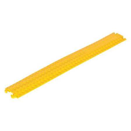 Vestil Molded Rubber Cable Clamp 2.2K Yellow