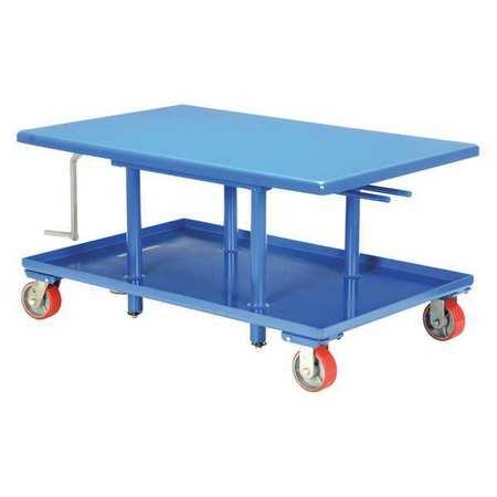 Vestil Low Profile Mech Post Table 30 x 36