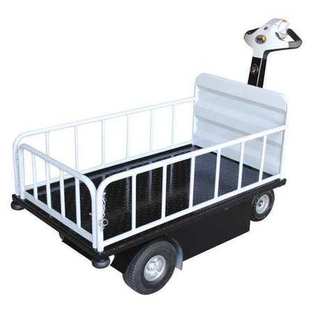Vestil Traction Drive Cart Top Load EndGate