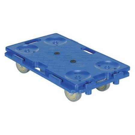 Vestil Interlocking Plastic Dolly 16 x 26