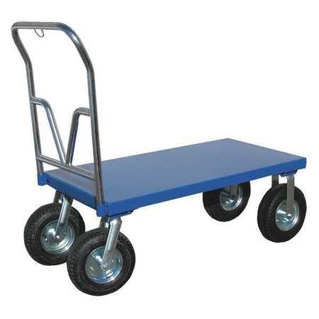 Vestil Pneumatic Tire Platform Cart 36 x 72