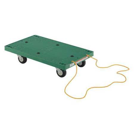 """Vestil Plastic Dolly Pull Rope 30x18"""" 500 lb."""
