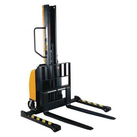 """Vestil Powered Lift Stacker 63"""" 1000 lb."""