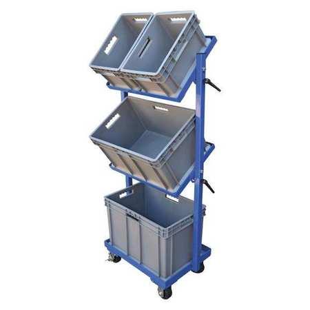 Vestil Multi-Tier Cart 3 Shelf 3 Basket 200 lb.