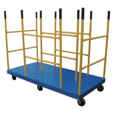 Vestil Versatile Divider Platform Cart 3K 30x60