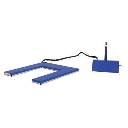 Vestil U Type Electric Lift Table 2K cap