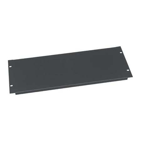 Blank Panel 4 Space Flanged Black by USA Middle Atlantic Electrical Cabinet Accessories