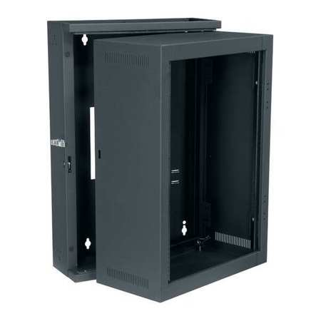 "Wall Rack Sectional Fits 20"" D 16unt by USA Middle Atlantic Voice & Data Communication Cabinets"