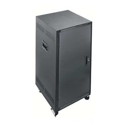 Portable Rack 21 Space W/locking Doors by USA Middle Atlantic Voice & Data Communication Cabinets