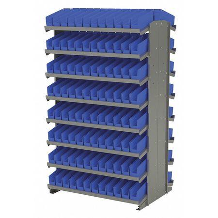 Sided Pick Rack,24x36.75x60.25,blue