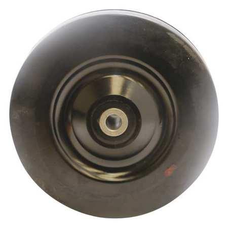 Value Brand Castr Wheel Blk 1-1/4inWx5inDia. 210 lb.