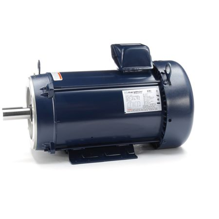 Motor 3 Ph 10 HP 3535 RPM 208 230/460V by USA Marathon General Purpose 3 Phase AC Motors
