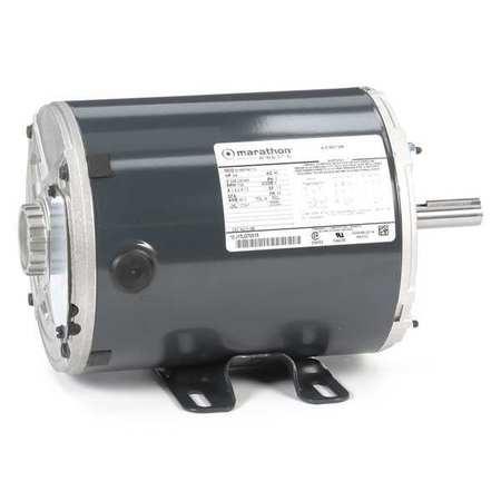 Motor 3 Ph 1/2 HP 3450 RPM 208 230/460V by USA Marathon General Purpose 3 Phase AC Motors