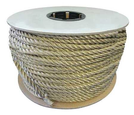 Value Brand Rope 600ft Tan 605lb. Polyprpylne