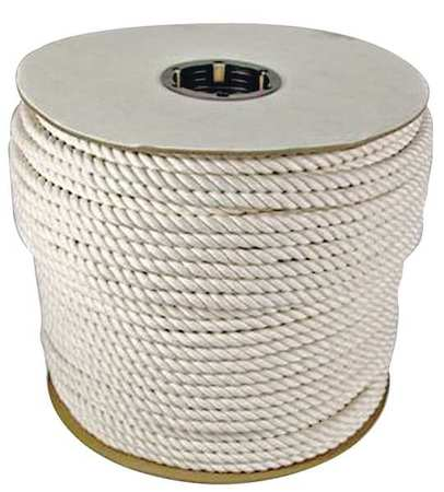 Value Brand Rope 600ft Wht 5/8 in. Dia. Cotton