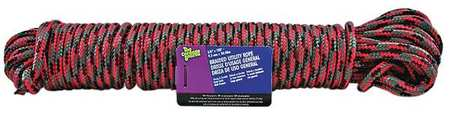 Value Brand Rope 100 ft. Blk/Bl/Grn/Orng/Rd/Yllw
