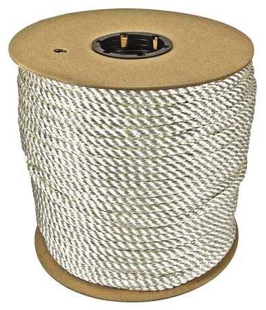 Value Brand Rope 600ft Wht 1200lb. Nylon