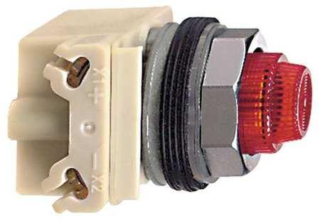 Pilot Light Incan Red 220 240V by USA Schneider Electrical Control Pilot Lights