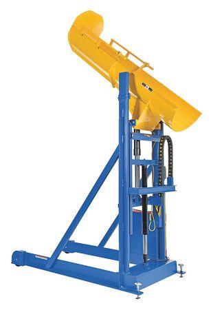 Value Brand Drum Dumper 100-1/4 in. H 1000 lb. 115V