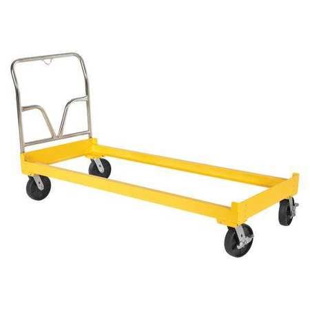 Value Brand Drum Rack Cart Yellow 2400lb 14-9/16inH