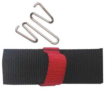 Hook-and-Loop Belt,Black,8 in. Lx7 in. W -  PORTAPAINT, 5108