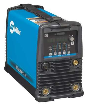 TIG Welder, Maxstar 210 Series, 120 to 480VAC -  MILLER ELECTRIC, 907684