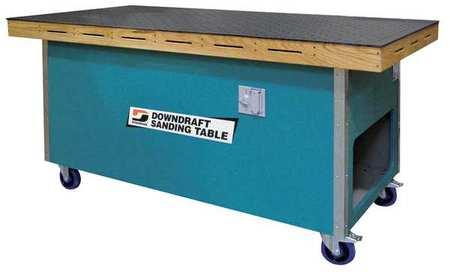 Dynabrade Downdraft Table 36 X 72 In 1 Hp 115v 64700