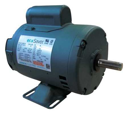 General Purpose Motor 1 HP 60 Hz by USA Leeson General Purpose Capacitor Start AC Motors