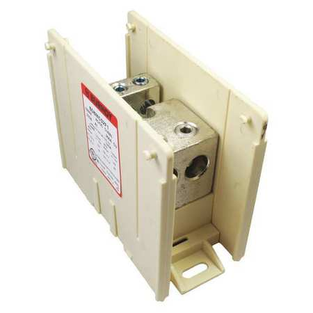Power Distribution Block 14 to 2/0 AWG by USA Burndy Electrical Wire Power Distribution Blocks