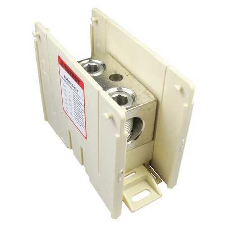 Power Distribution Block 6 AWG to 350MCM by USA Burndy Electrical Wire Power Distribution Blocks