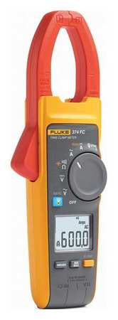Clamp Meter Digital LCD 32 ohm 800 Hz by USA Fluke Electrical Clamp Meters