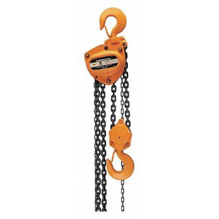 Harrington Manual Chain Hoist 12000lb 15ft Lift