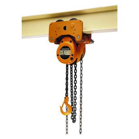 Harrington Manual Chain Hoist 10000 lb. 10 ft. Lift