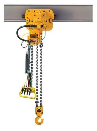 Harrington Air Chain Hoist Powered Trolley 1000 lb.
