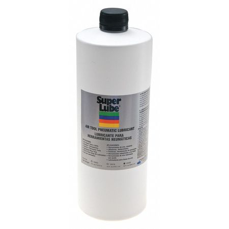 Air Tool Lubricant, Bottle, 1 Qt -  SUPER LUBE, 12032