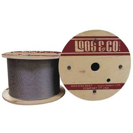 Loos Cable 50 ft. L 1/16 in. 90 lb.