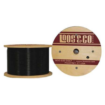 Loos Cable 50 ft. Black Nylon 3/64 in. 54 lb.