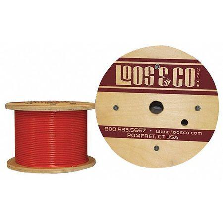 Loos Cable 50 ft L 1/8 in 400 lb Orange Nylon