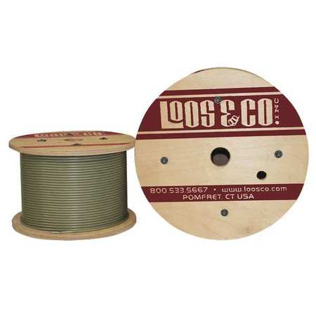 Loos Cable 500 ft L 3/16 in 740 lb Nylon