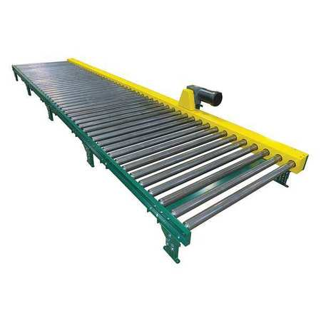 Ashland Roller Conveyor 5 ft.L 2 Legs Per Unit