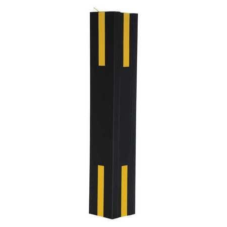 Vestil Column Protector Blck 36inH 16inW I-Beam