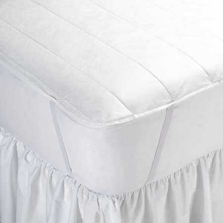 Mattress Pad,full Xl,54 In. W,pk6