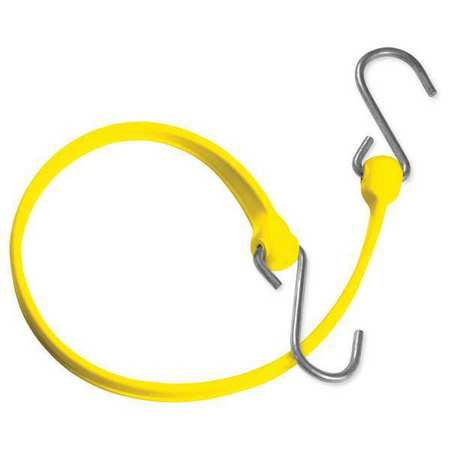 The Better Bungee Polystrap Yellow 12 in. L
