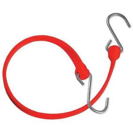 The Better Bungee Polystrap Red 12 in. L Galvanized Steel