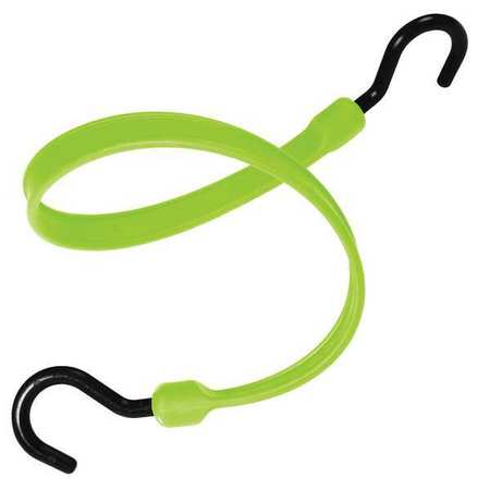 The Better Bungee Polystrap Safety Green 24 in. L Nylon