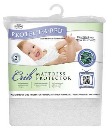 Mattress Pad,crib,terry Cotton,pk12
