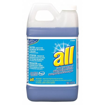 All 1.89l Floral High Efficiency Liquid Laundry Detergent