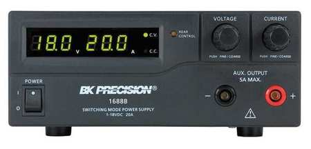 Switching DC Power Supply 18V 20A by USA B&K Electrical AC DC Power Supplies