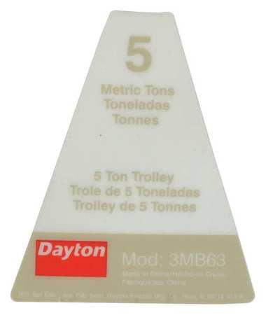Dayton Name Plate