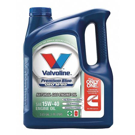 Valvoline motor oil 1 gal amber 15w 40 sae grade for Valvoline motor oil test